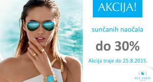 POPUST do 30% na sunčane naočale u Bilić Vision Optici